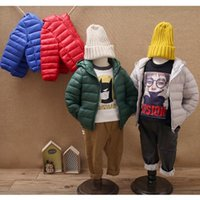 2018 Autumn And Winter Children' s Cotton Down Jacket Li...