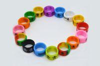 Силиконовая полоса красоты кольцо нескользящей нескользящей 18 мм Диаметр силиконовой лентой для механических модов rba rda распылитель декоративные мех мод DHL