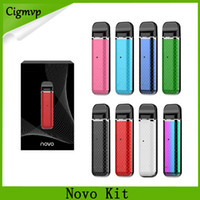 Novo Pod Starter Kits 450mAh 2ml 빈 카트리지가있는 배터리 내장 휴대용 vape 펜 키트 DHL