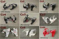 نوعية جيدة ألياف الكربون كاملة 3 كيلو / ud لامع لامع النهاية الطريق دراجة colnago C60 C64 أصحاب زجاجة زجاجات المياه أقفاص مجانية