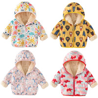 Autumn Winter New Baby Girls And Boys Pizex Kids Cartoon Fle...