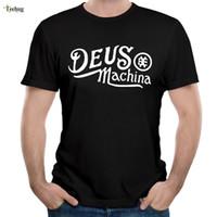 Deus Ex Machina Spiel T-shirt Mode Mann Streetwear Tees Plus Größe