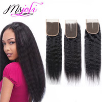 9A Malaysian human virgin hair weave kinky curly yaki natura...