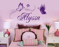 Removable Wallpaer Butterfly Wall Stickers for kids room dec...