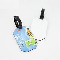 Etiquetas de bagagem de madeira mdf para sublimação com furo de impressão de transferência do coração em branco Etiquetas de bagagem elipse tag dx-009 atacado