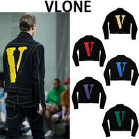 2018 japan High Quality Mens Vlone FRIENDS jacket New Style ...