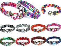 fascino farfalla Noosa braccialetto gioielli fai da te Farfalla pulsanti braccialetto Ginger snap nosa pezzi bracciali per le donne gioielli regalo