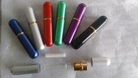 90sets inhalateur nasal en aluminium blanc avec 200wicks 6 couleurs inhalateur en métal pour huile essentielle Aromatics Delux pick couleurs cadeau de réutilisation