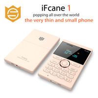 الأصلي iFcane E1 إفتح المحمولة الصغيرة مصغرة بطاقة الهاتف المحمول مع MP3 بلوتوث FM 5.8mm سامسونج بطاقة الهواتف المحمولة الصغيرة