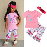 Baby Boutique Girls Clothing Set 2PCS Toddler Outfit Tops T-...