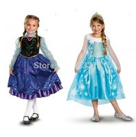 Retail Frozen Snow Queen Costume Custom Size For Kids Prince...