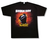 Top Tees Custom Any Logo Size Green Day Kiss Color 21st Cent...