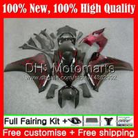 Iniezione per HONDA CBR1000 RR 08 11 CBR1000R 08 09 10 11 fiamme rosse 42MT6 CBR 1000 RR CBR 1000RR 2008 2009 2010 2011 Carenatura Carrozzeria