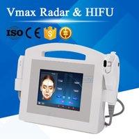 Date 2in1 Vmax Radar HIFU Machine Grade Médical HIFU Haute Intensité Concentrée Ultrason Hifu Lift De La Machine Lift De Rides Soins De La Peau