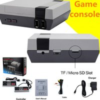 2018 support TF card game console with classic nes games dow...