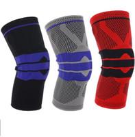 Новая Безопасность Эластичная Поддержка колена Brace Kneepad Регулируемая чашечная волейбол Волейбол Клен Падс Баскетбол Безопасность Ремешок Защитник