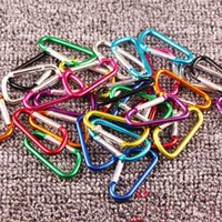 # 5 D design di Camp Ganci moschettone anello portachiavi Outdoor Sports a scatto in metallo escursione di campeggio di alluminio chiave in lega di gadget catena del campeggio