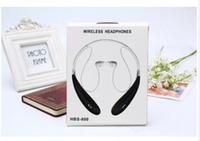 HBS800 Için Bluetooth Kulaklık Kulaklık HBS800 Spor Stereo Bluetooth Kablosuz HBS-800 Kulaklık Kulaklıklar Iphone 7 Için Evrensel Telefon WXEj