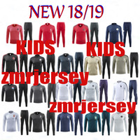 18- 19 KIDS Real Madrid training suit Frances man tracksuit J...