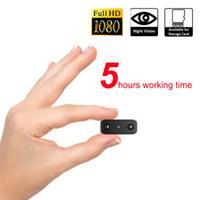 HD 1080 P Mini Câmera de Visão Noturna Infravermelha Mini Câmera DV Gravação de Voz Gravador de Vídeo Digital Mini Filmadora pk SQ11 T189