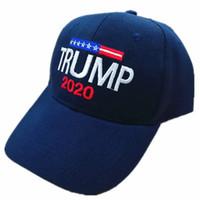 Trumpf 2020 Baseball Cap Wiederwahl Stickerei USA Flagge Hüte Brief halten amerikanischen großen Hut Sport Baseball Caps Trucker Hat 7Style DHL FREE