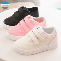 2018 Solid Baby Casual Shoes Moda Neonato Soft bottom Toddler Shoes Boys and Girls Sports Sneakers per bambini di alta qualità