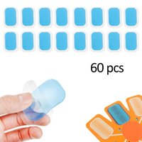 30 Packs 60 PCS Hydrogel Abdominal Gel Stickers Fitness Equi...