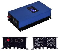 llimiter와 2000W 배터리 백업 MPPT 태양 광 발전 그리드 타이 인버터 DC45V-90V AC230V LCD