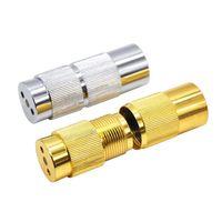 Aluminio Polen Prensa Presser Compresor Herb Grinder Especias Trituradora tabaco especia cigarrillo Grinder Fumar pipa conjuntos Accesorios