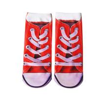 USPS calcetines 압축 양말 Mens 양말 남자의 여자 3D 인쇄 재미 있은 미친 참신 로우 컷 Ped 귀여운 meias