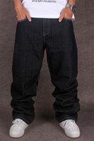 Pantalones vaqueros holgados negros para hombres Pantalones de skate de marca Hip Hop Designer Cholyl Estilo suelto True Hiphop Rap Jeans al por mayor Boy