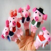 5 Küçük Domuzcuk Kuklalar Parmak Kuklaları Çocuk Eğitici Oyuncak Erkek Kız Için Erkek Kız Erkek Kız Parmak Kukla Oyuncak Erkek Kızlar Için