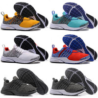 2018 TOP PRESTO BR QS Breathe Black White Mens Basketball Sh...