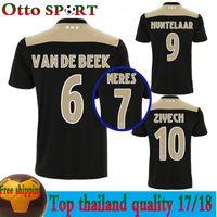 nuevo 2018 2019 Ajax FC camisetas de fútbol Camisa ZIYECH KLUIVERT NOURI  DOLBERG YOUNES Jerseys Camisetas 3c33c6b87fc21