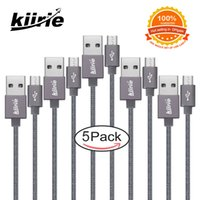 Kiirie Micro USB Cable Sets With 5 Durable Data Lines Nylon ...