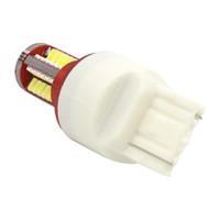 T20 7440 7443 W21/5W 57 SMD 3014 LED авто стоп-сигналы 21/5 Вт автомобилей DRL вождения лампа стоп-сигналы красный белый желтый