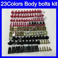 Verkleidungsschrauben Vollschraube Kit für Honda VFR800 Interceptor 98 99 00 01 VFR 800 VFR800RR 1998 1999 2001 Körpermuttern Schrauben Nut Bolt Kit 25colors