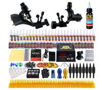 Beginner Tattoo Guns Kits 2 Professional Tattoo Machine Kit ...