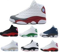 Designer shoes 13s Bred Chicago Flints Men Women Basketball Shoes 13s DMP Grey Toe History Of Flight Hyper Royal Sneakers With Box