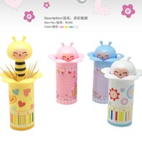 BF040 Cute cartoon animal toothpick bottle automatic toothpi...