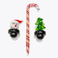 Cute Christmas Set snowman and Tree style Glass Bubble Carb ...