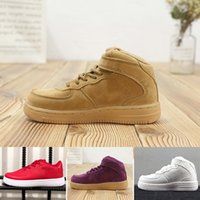 Wholesale Designer One 1 Kids Casual Shoes Classic Forces Lo...