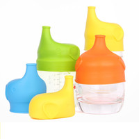 Reusable Anti Overflow Silicone Cup Lid soft Dust Proof Spil...