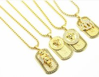 New year high quality 20k Gold Plated angel Pendant Set auge...