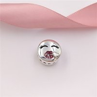 Valentine Day Gift 925 Sterling Silver Beads Kiss Charm Fits...