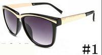 estate a buon mercato nuova donna di metallo di guida occhiali da sole signore di modo all'aperto gli occhiali da sole di vento ciclismo Occhiali sole nero occhiali trasporto libero