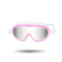 Lovely Swimming Goggles Waterproof Swim Glasses with Clear V...