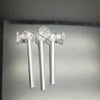 Nuevo frasco de altavoz de vidrio Bongs de vidrio Quemador de aceite Pipas de agua de vidrio Aparejos de aceite Sin fumar