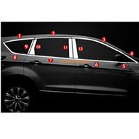 Стайлинг кузова автомобиля стикер из нержавеющей стали стекло окна гарнир столб средний столбец отделка капот рамка для Ford Kuga 2013 2014 2015 2016