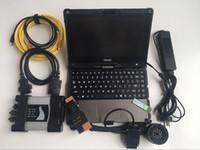 Pour le testeur de diagnostic BMW pour BMW ICOM SUPER SUPER SSD 480GB ISTA Mode Expert Mode Ordinateur portable Getac Touch I5 4G haute vitesse